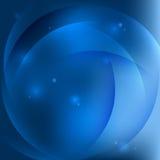 Абстрактный голубой вектор предпосылки Стоковые Фото