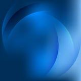 Абстрактный голубой вектор предпосылки Стоковое Изображение