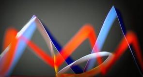 абстрактный голубой помеец Стоковое фото RF