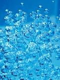 Абстрактный голубой пузырь Стоковые Изображения