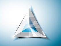 Абстрактный треугольник Стоковые Изображения