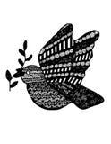 Абстрактный голубь Стоковое фото RF