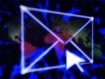 абстрактный график электронной почты Стоковые Изображения