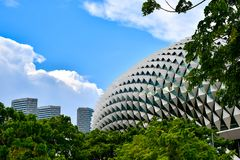 Абстрактный дизайн архитектуры здания стоковые фото