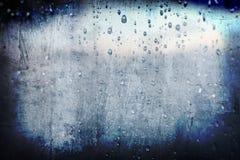 абстрактный дождь grunge капельки предпосылки Стоковое Изображение