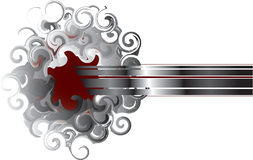 абстрактный дым зеркал Стоковые Изображения RF