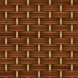 Абстрактный декоративный деревянный текстурированный соткать корзины иллюстрация штока