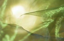 абстрактный желтый цвет зеленого цвета предпосылки Стоковые Фото