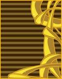 абстрактный желтый цвет коричневого цвета предпосылки Стоковая Фотография