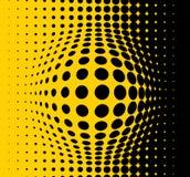 абстрактный желтый цвет предпосылки иллюстрация вектора