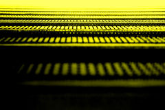 абстрактный желтый цвет текстуры Стоковое Фото