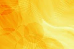 абстрактный желтый цвет Стоковое Изображение
