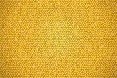 Абстрактный желтый цвет кроет предпосылку черепицей Стоковое Изображение