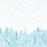 Абстрактный заморозок завихряется безшовное текстуры горизонтальное бесплатная иллюстрация
