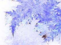 Абстрактный заморозок фрактали бесплатная иллюстрация