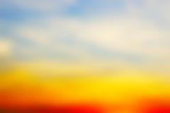 абстрактный заход солнца предпосылки Стоковое Изображение