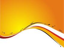 абстрактный звук конструкции Стоковая Фотография RF