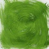 абстрактный зеленый вортекс Стоковые Фото