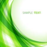 абстрактный зеленый цвет предпосылки Стоковое Изображение RF
