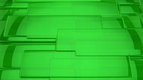 абстрактный зеленый цвет предпосылки 3d Стоковое фото RF