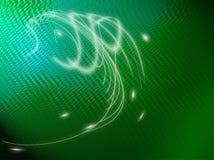 абстрактный зеленый цвет рыб backdround Стоковые Фото