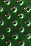 абстрактный зеленый цвет терки сыра Стоковые Фотографии RF
