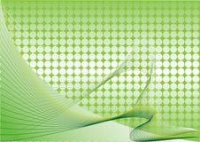 абстрактный зеленый цвет Иллюстрация штока