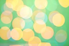 абстрактный зеленый цвет bokeh солнечный Стоковое фото RF