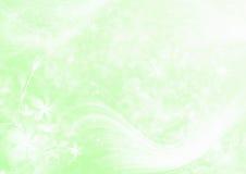 абстрактный зеленый свет предпосылки Стоковые Изображения RF