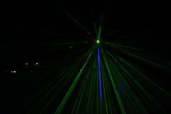 Абстрактный зеленый свет Стоковые Изображения