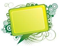 абстрактный зеленый цвет конструкции Стоковая Фотография RF