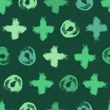 абстрактный зеленый цвет предпосылки безшовный Стоковые Изображения RF