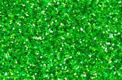 абстрактный зеленый цвет предпосылки Зеленое фото крупного плана яркого блеска Зеленая упаковочная бумага shimmer Стоковая Фотография RF