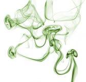 Абстрактный зеленый дым стоковое изображение rf