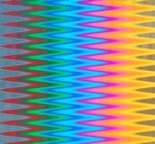 Абстрактный зигзаг радуги формирует предпосылку Стоковые Изображения
