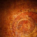 абстрактный зодиак часов Стоковые Изображения