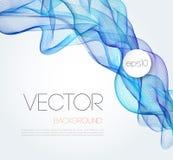 Абстрактный дизайн брошюры предпосылки шаблона волны Стоковая Фотография
