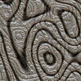 Абстрактный дизайн в металле Стоковые Фото