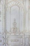 Абстрактный дизайн картины на деревянной предпосылке стены Стоковое Фото