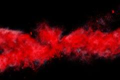 Абстрактный дизайн красного цвета Стоковая Фотография