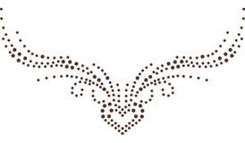 Абстрактный дизайн рубашки влюбленности моды Стоковое Изображение RF