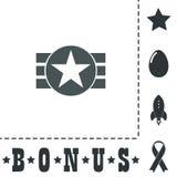 Абстрактный дизайн флага США Стоковое фото RF