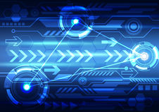 Абстрактный дизайн цифровой технологии Стоковые Фото