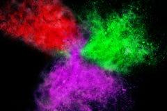 Абстрактный дизайн Multi цвета Стоковое Фото