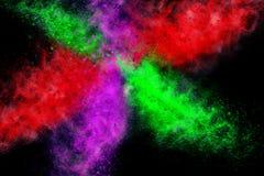 Абстрактный дизайн Multi цвета Стоковая Фотография