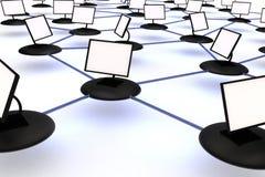 абстрактный интернет Стоковая Фотография RF