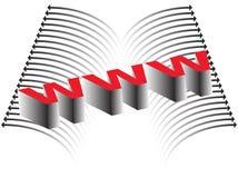 абстрактный интернет Стоковое фото RF