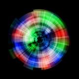 Абстрактный диск #001 Стоковые Фото