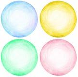 Абстрактный карандаш круга scribbles текстура предпосылки Стоковое Изображение