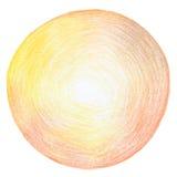 Абстрактный карандаш цвета scribbles предпосылка Стоковое Фото